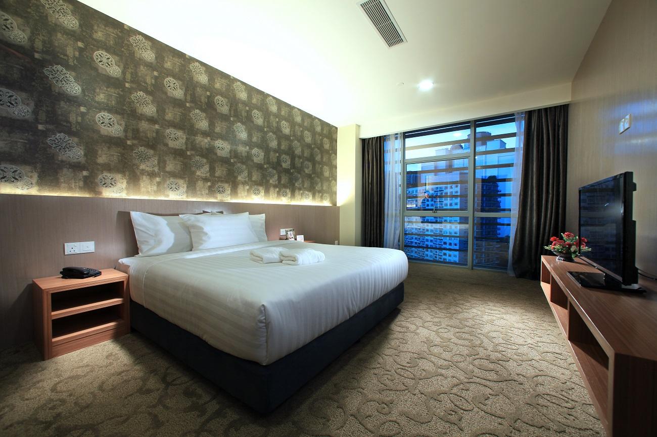 Suite Room Accommodation Izumi Hotel Bukit Bintang Guarantees You A Comfortable